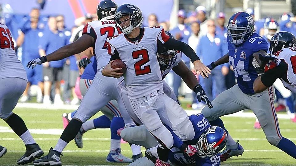 Giants vs Falcons - NFL Sunday Ticket October - Kimmyz on Greenway - Jim O