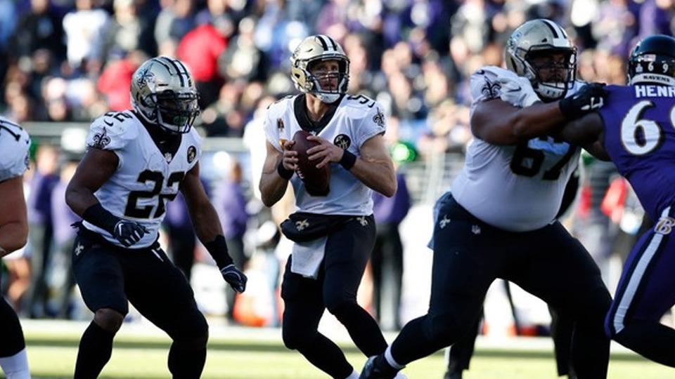 Saints vs Ravens - NFL Sunday Ticket October - Kimmyz on Greenway - Image Credit Getty Images