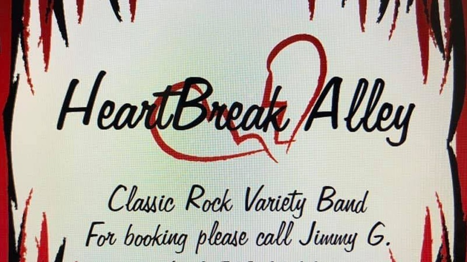 Friday April 23rd 2021 Live Music Glendale with Heart Break Alley at Kimmyz on Greenway