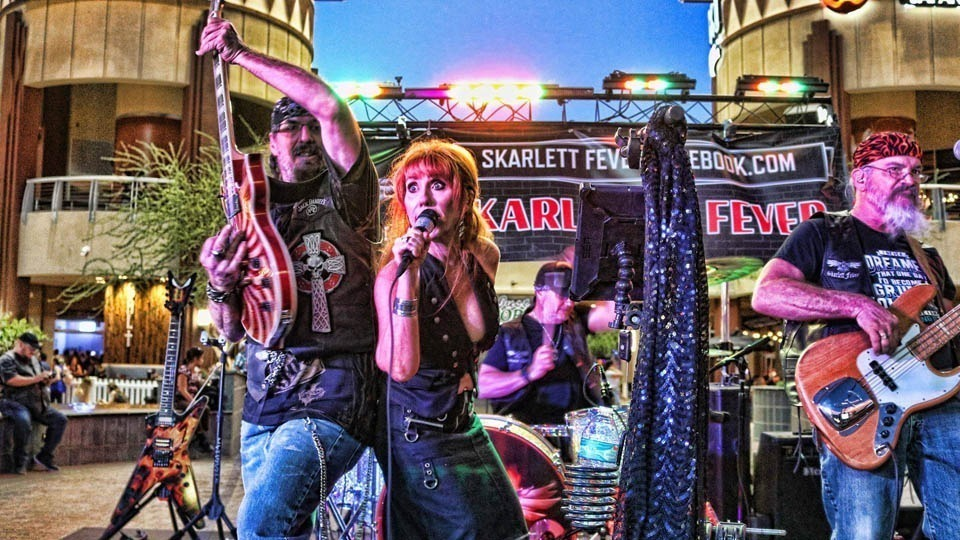 Saturday July 10th Live Music in Glendale with Skarlett Fever at Kimmyz on Greenway